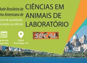 Congresso da Sociedade Brasileira de Ciência em Animais de Laboratório