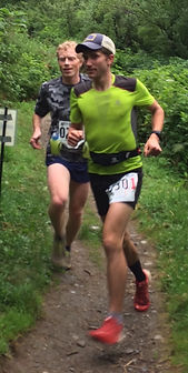Runners: Allan Spangler and Josh Musson