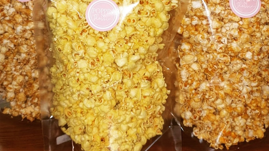 Popcorn in Air-Tight Seal Bags (Small)