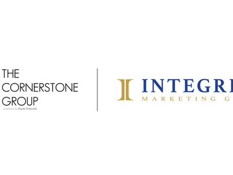 The Cornerstone Group Joins Integrity to Increase Growth and Serve More Americans!
