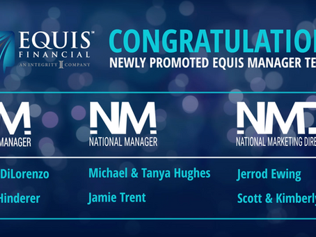 2 Regional Managers, 2 National Manager Teams, and 2 National Marketing Director Teams Promoted!