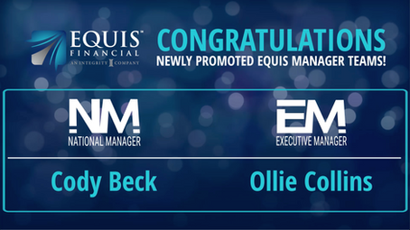 1 National Manager & 1 Executive Manager Promoted in November 2020!