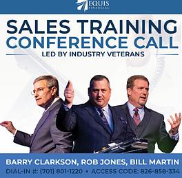 Sales Training Call