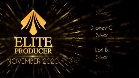 22 Elite Producers Promoted in November 2020!
