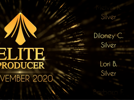 22 Elite Producers Promoted in November 2020!