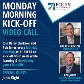 Monday Morning Kickoff Video Call