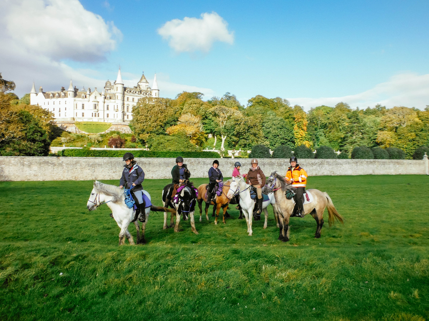 Riding at Dunrobin Castle
