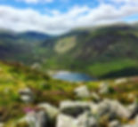 View from Cairngorms Ride of Loch Muick