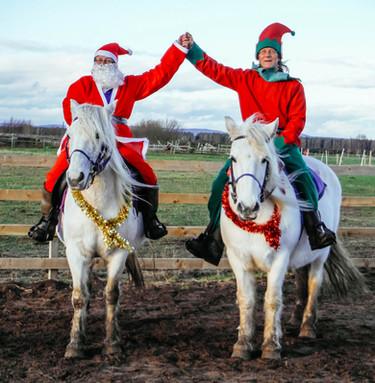 Jan and Graham at Christmas!