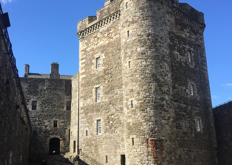 Black Ness Castle