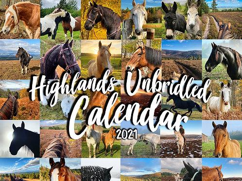2021 Horsey Wall Calendar