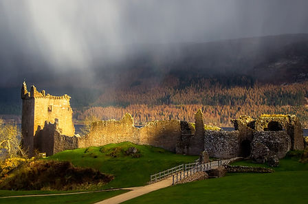 Urquhart Castle on Outlander Tour
