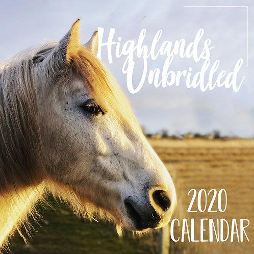 2020 Horsey Wall Calendar