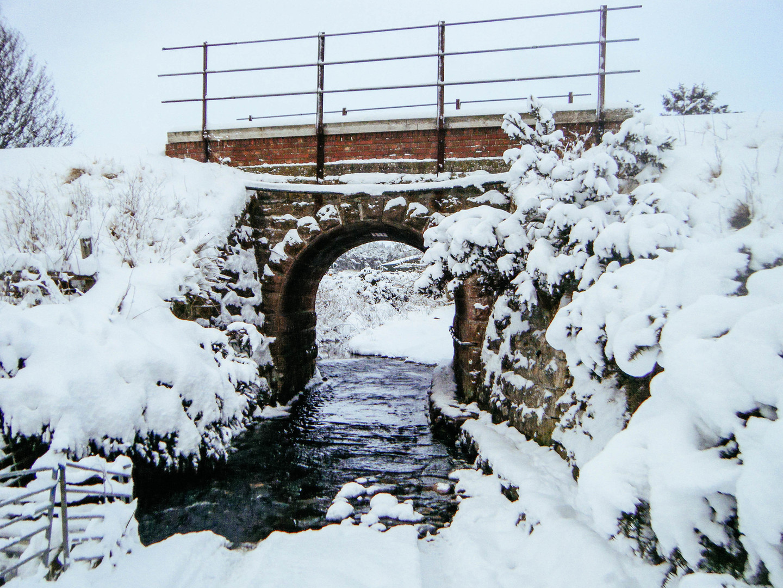 Snow at Brora