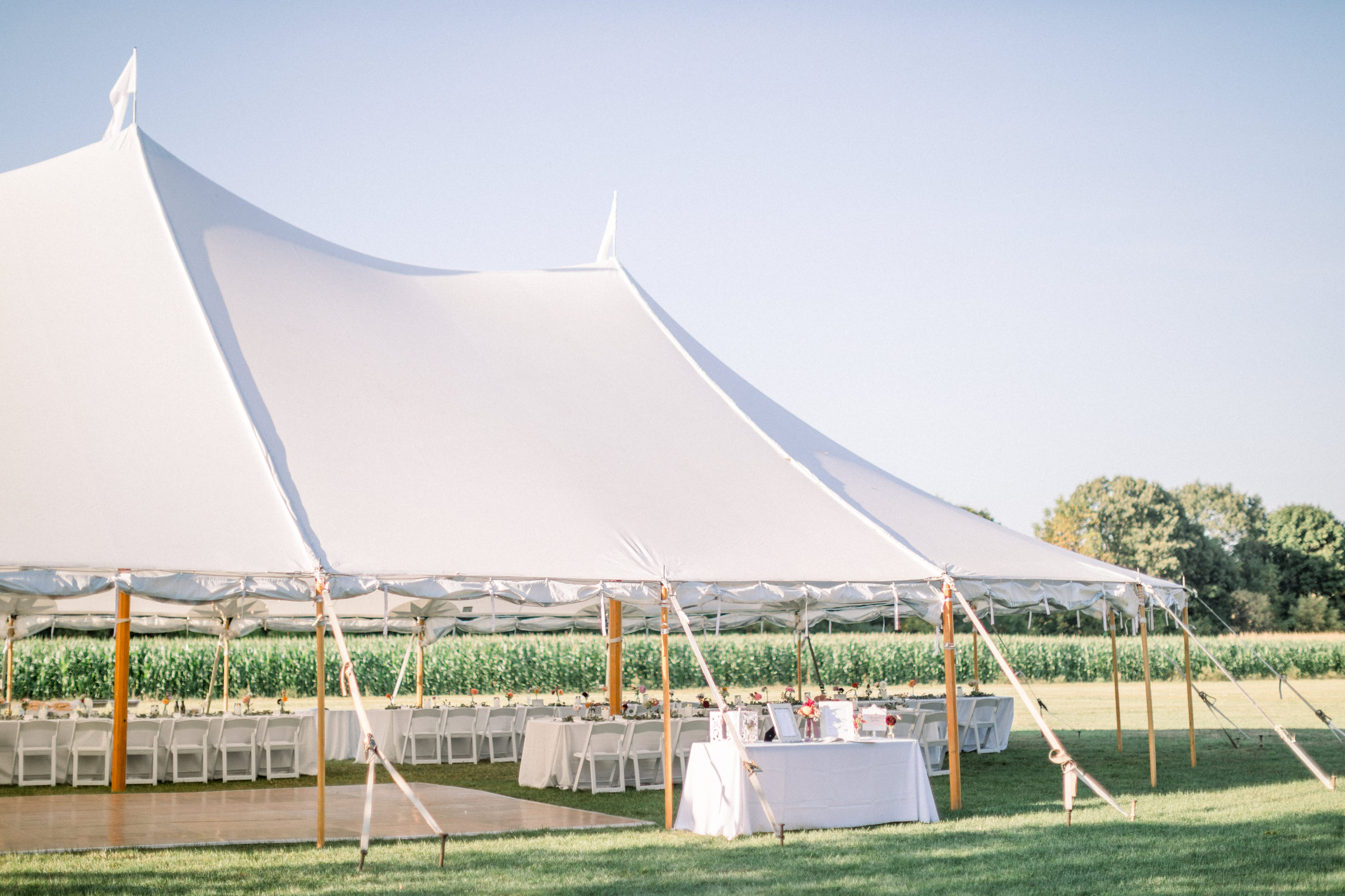 Spencer Peirce Little Farm Wedding Photo