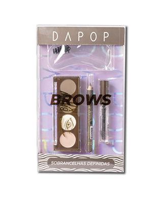 Kit de sobrancelhas Dapop - HB98329