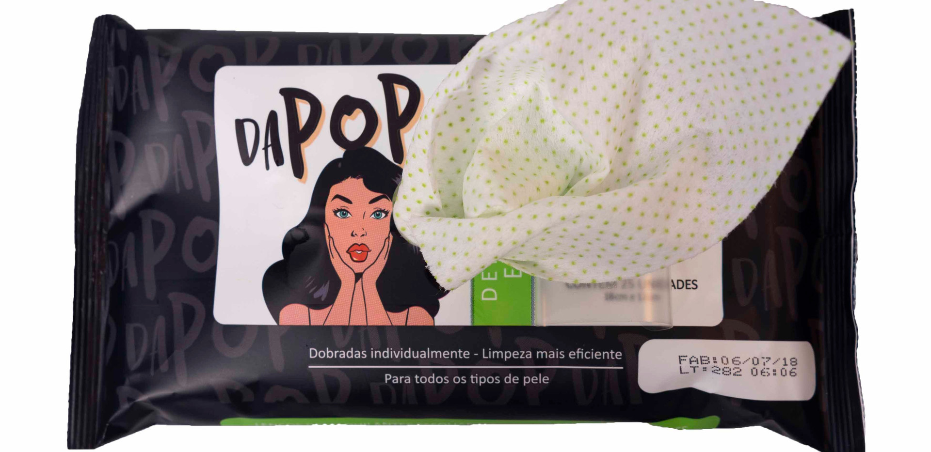 Lenço Demaquilante Esfoliante Dapop - PB2001 (2)