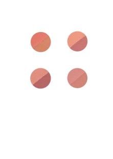 Blush Duo Natural Blushed Dapop Cores - HB96814