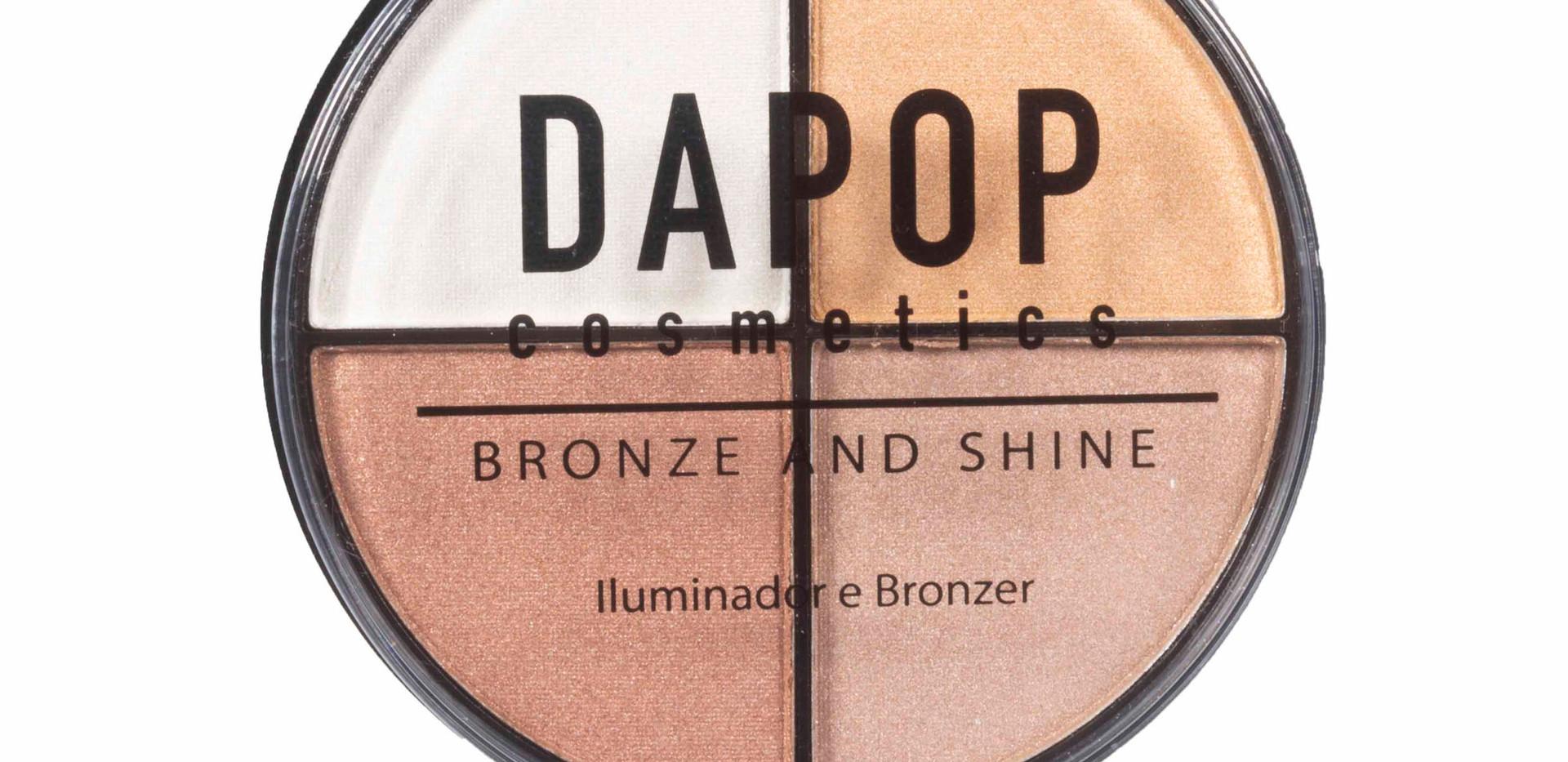 Quarteto de Iluminador e Bronze Dapop - HB96980