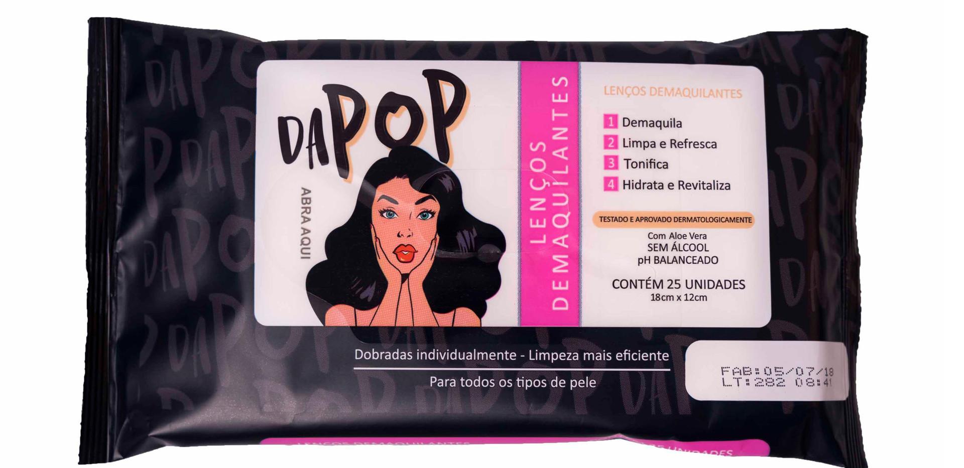 Lenço Demaquilante Dapop - PB2000