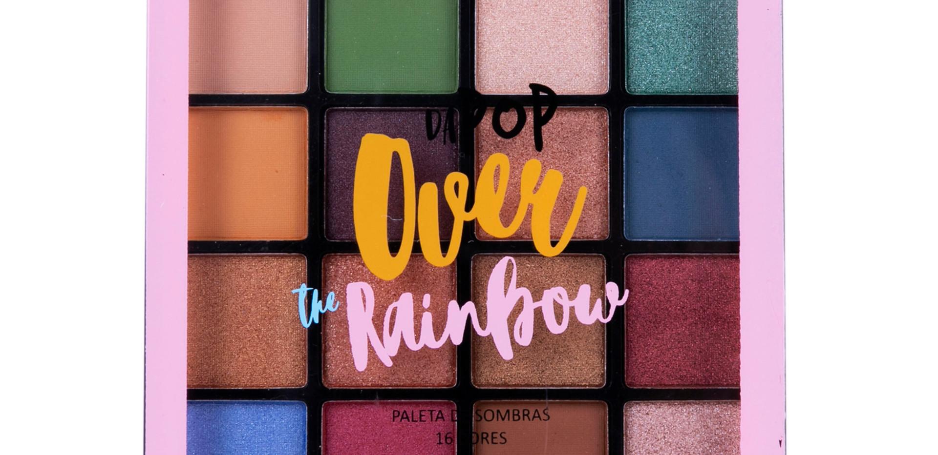 Paleta de Sombras Over the Rainbow Dapop - HB96728