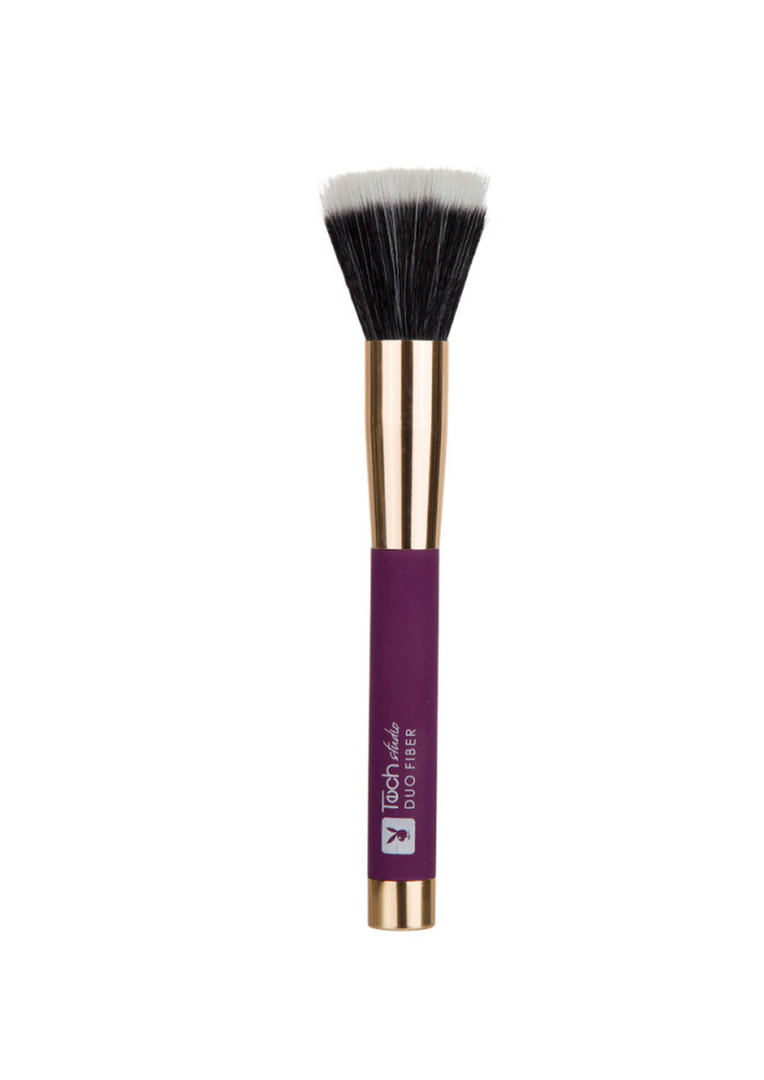 Pincel Duo Fiber Tech Studio Roxo Playboy - HB86451