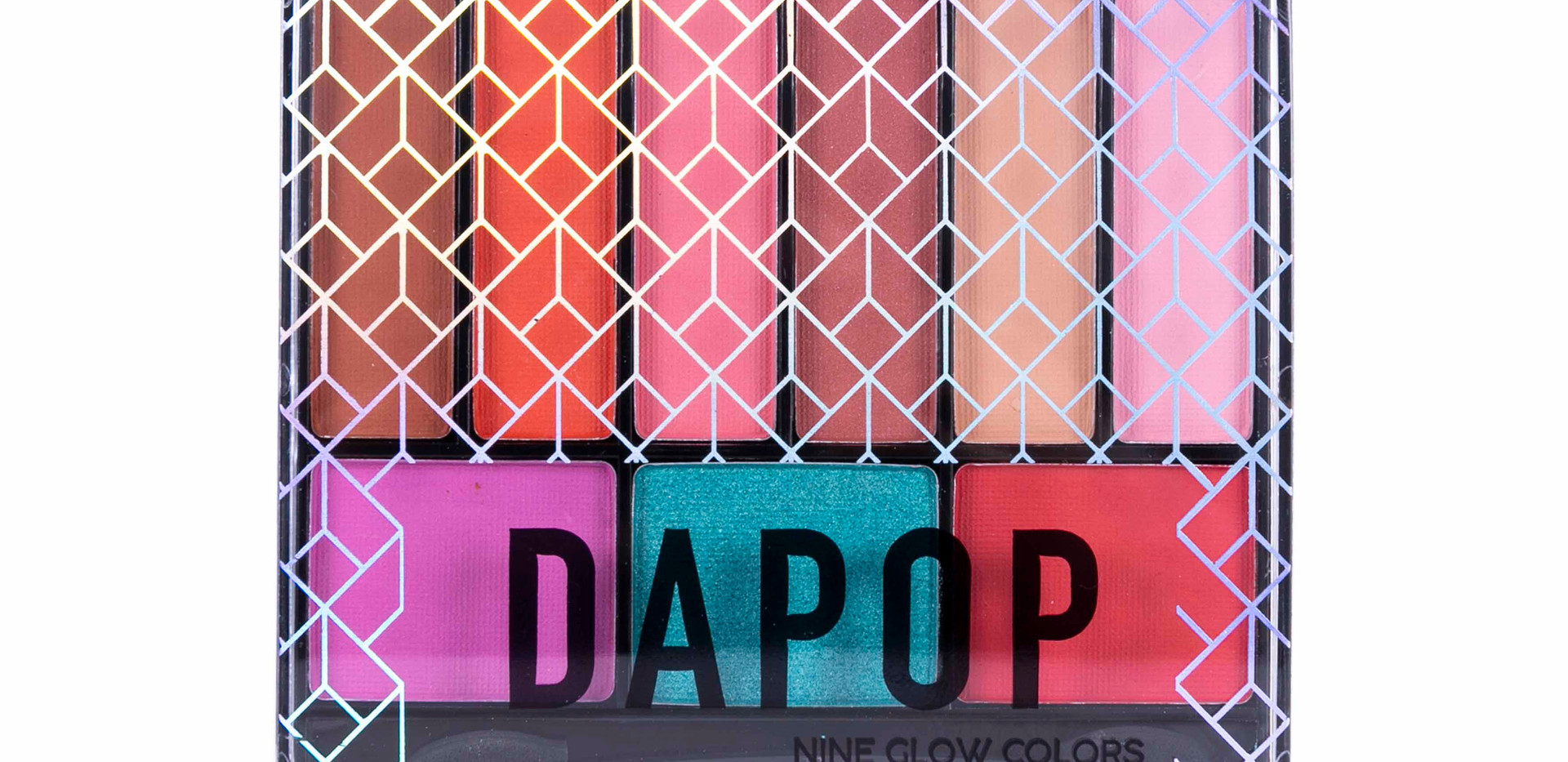 Paleta de Sombras Nine Glow Dapop - HB96620