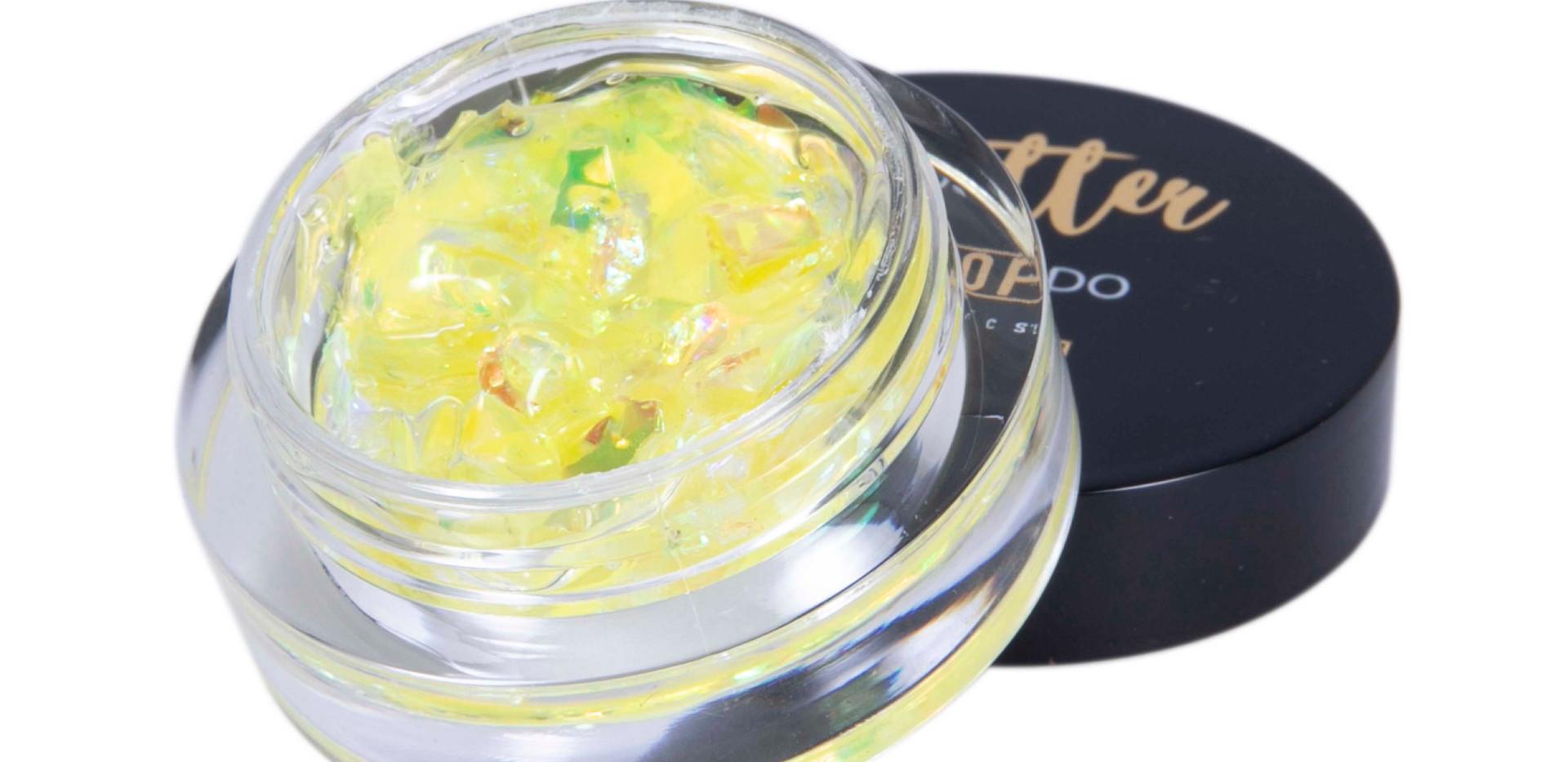 Glitter Flocado com Gel Dapop - HB96974 (cor 4)