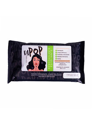 Lenço Demaquiante Esfoliante Dapop - PB2001