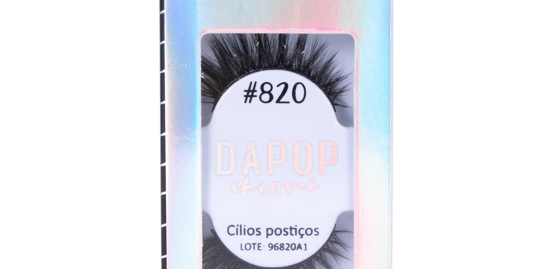 Cílios Postiços Premium #820 Dapop - HB96820 (3)