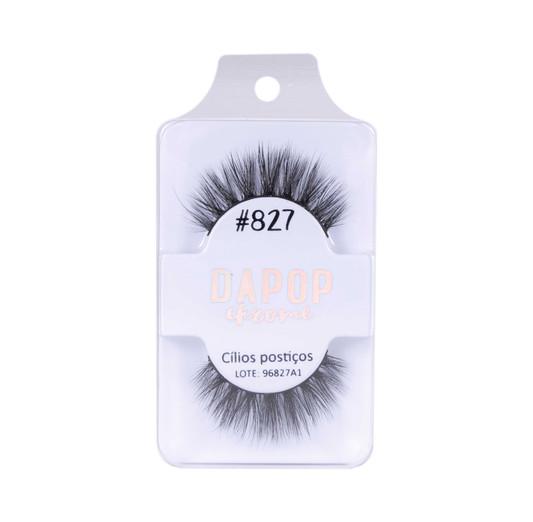 Cílios Postiços Premium #827 Dapop - HB96827 (2)
