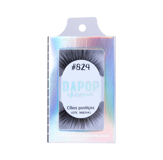 Cílios Postiços Premium  #824 Dapop - HB96824 (3)