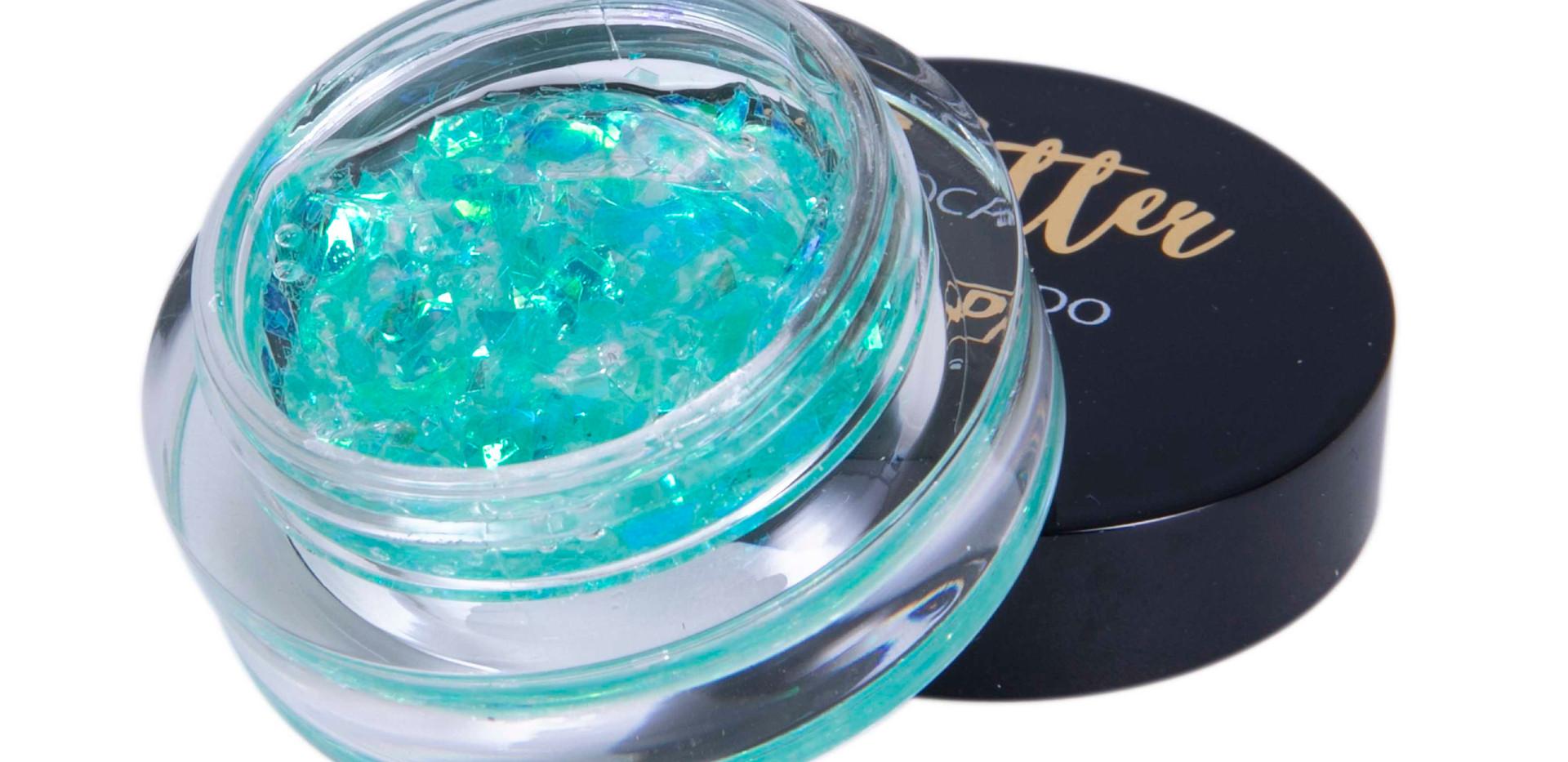 Glitter Flocado com Gel Dapop - HB96974 (cor 6)