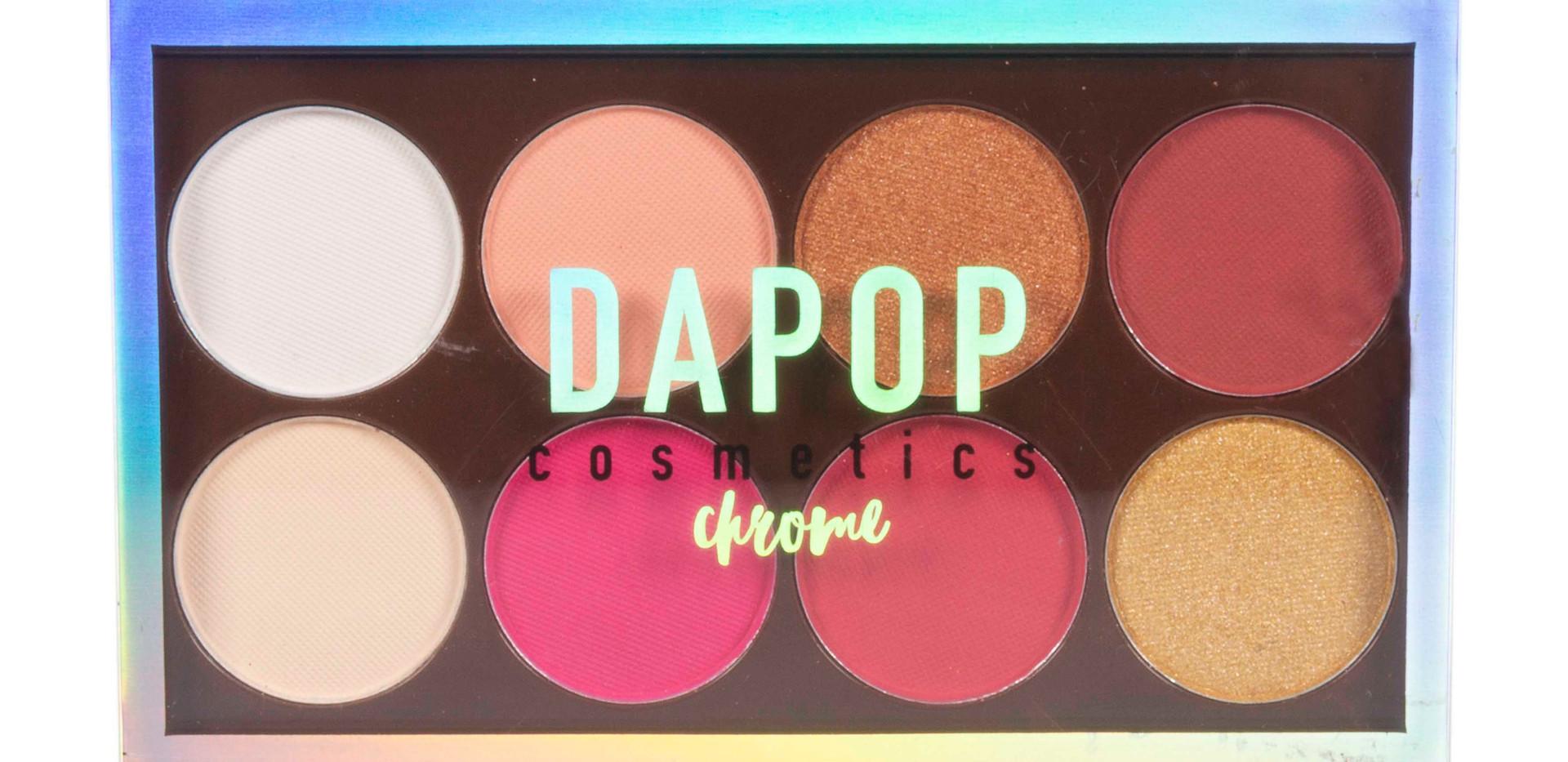 Paleta de Sombras 8 cores Dapop - HB96612