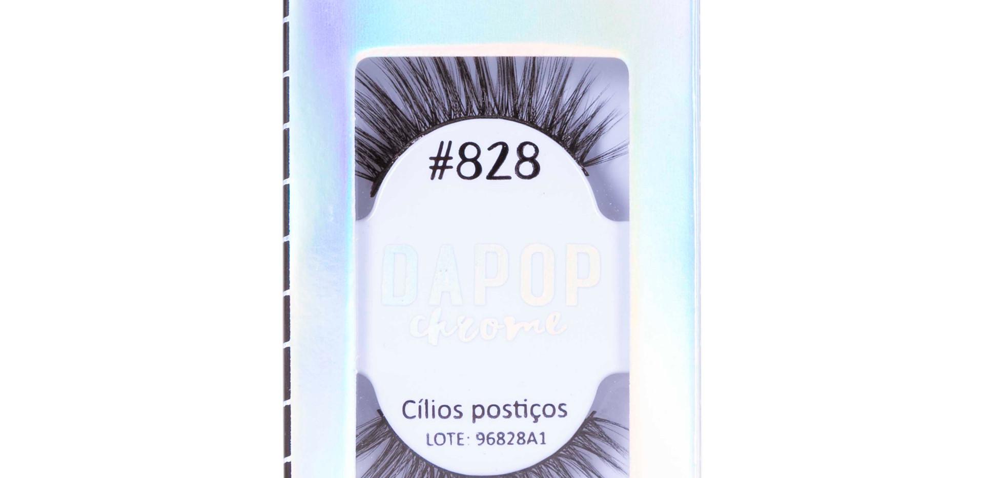 Cílios Postiços Premium #828 Dapop - HB96828 (3)
