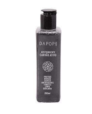 Adstringente Carvão Ativo Dapop - DP2061