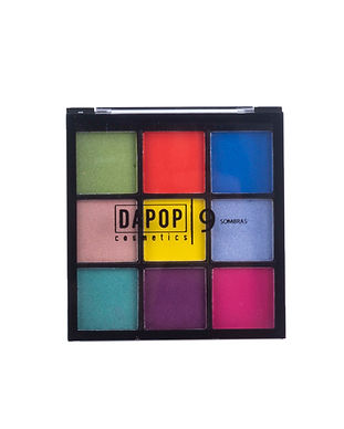 Paleta de Sombras 9 Cores Dapop - HB96655