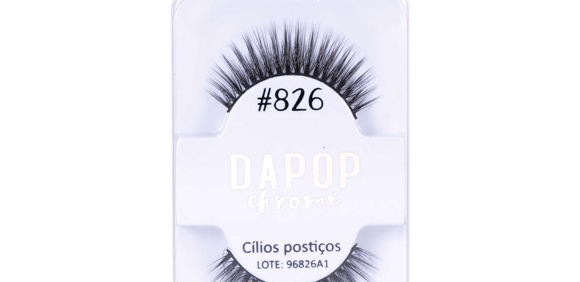 Cílios Postiços Premium #826 Dapop - HB96826 (2)