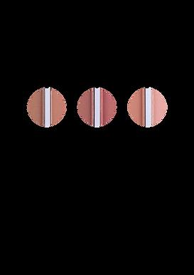 Blush + Bronzer Matte Dapop Cores - HB96986