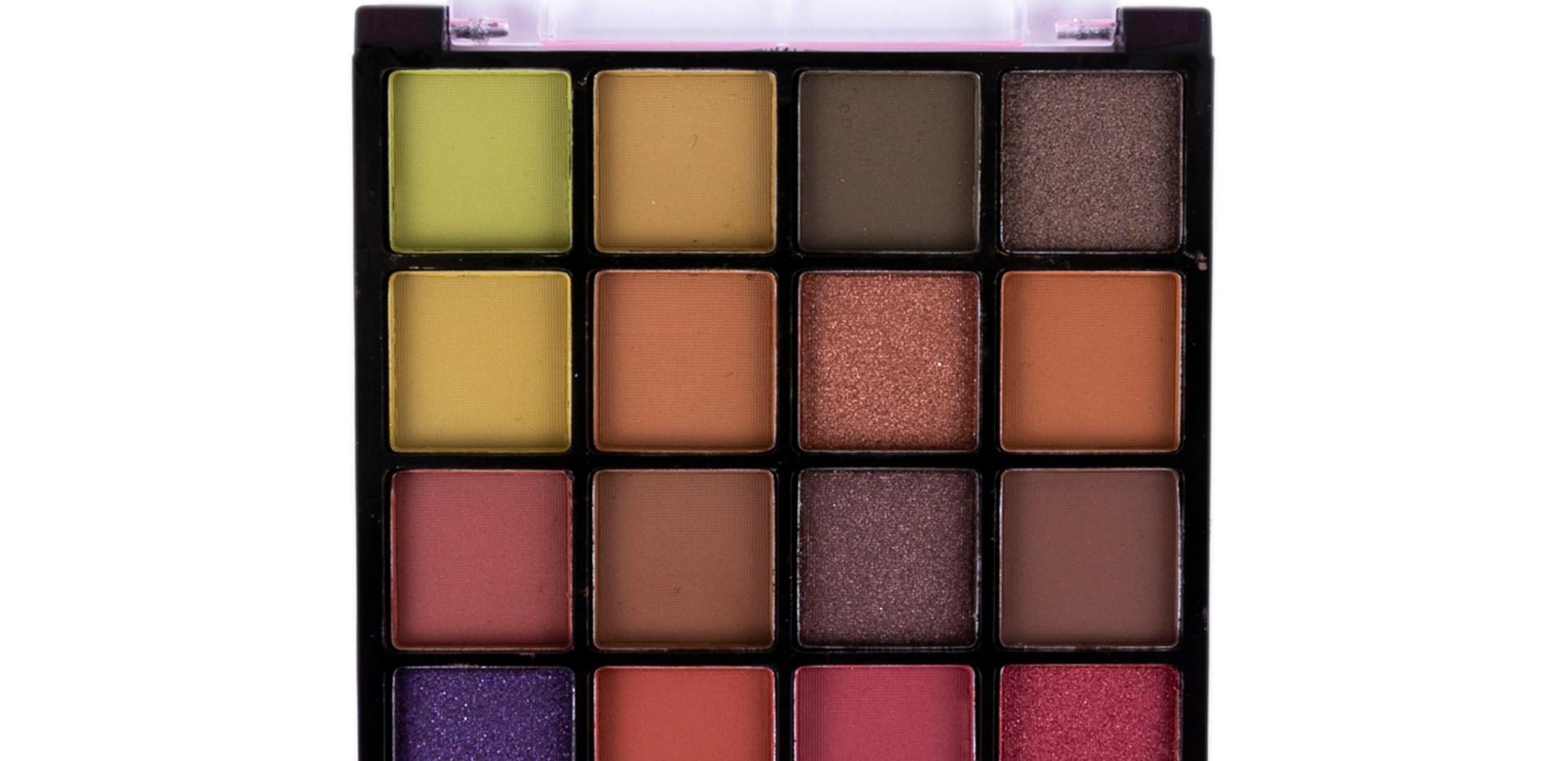 Paleta de Sombras Over the Rainbow Dapop - HB96728 (cor 2)
