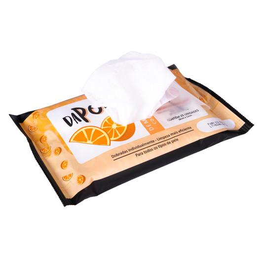 Lenço Demaquilante com Vitamina C Dapop - DP2020