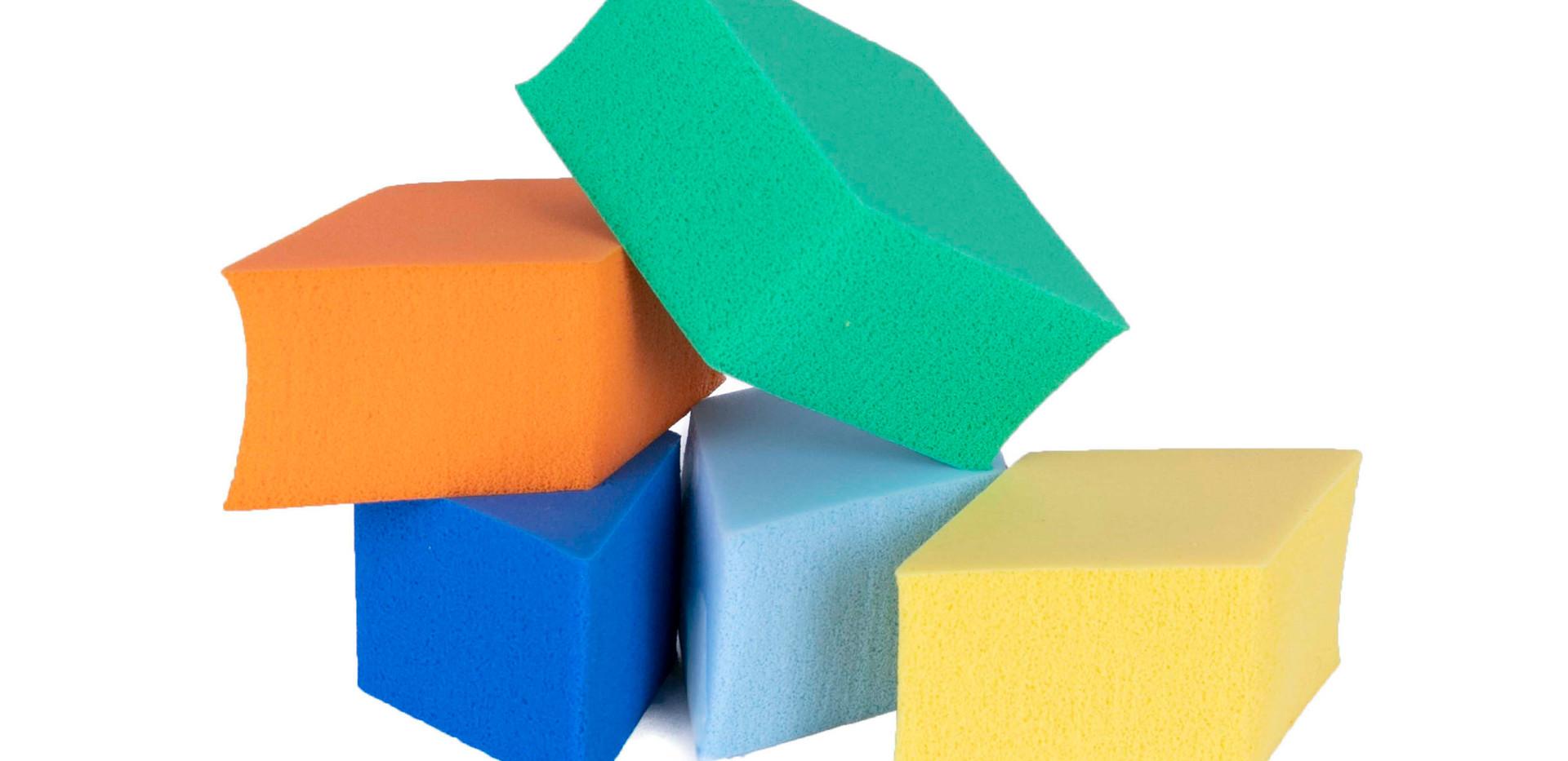 Kit de Esponjas com 5 Peças Dapop - HB97441