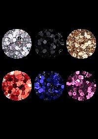 Glitter Flocado Dapop Cores - DP2075