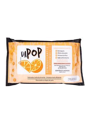 Lenço Demaquilante Vitamina C Dapop - DP2020