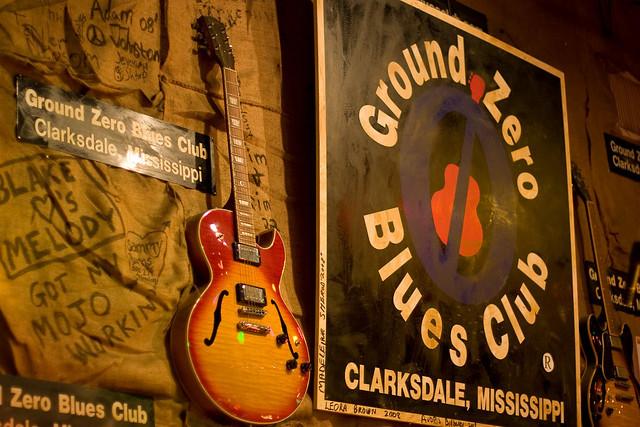 Ground Zero Blues Club Clarksdale, MS