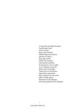 Image: Poem from the book