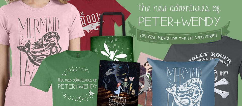 Peter + Wendy Merchandise