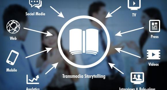 Transmedia Storytelling Illustration