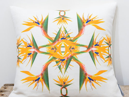 Bird of Paradise Cushion - Last Chance to Buy