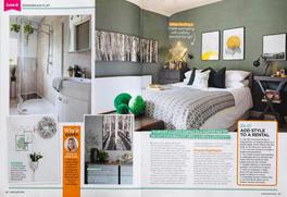 Green smoke bedroom